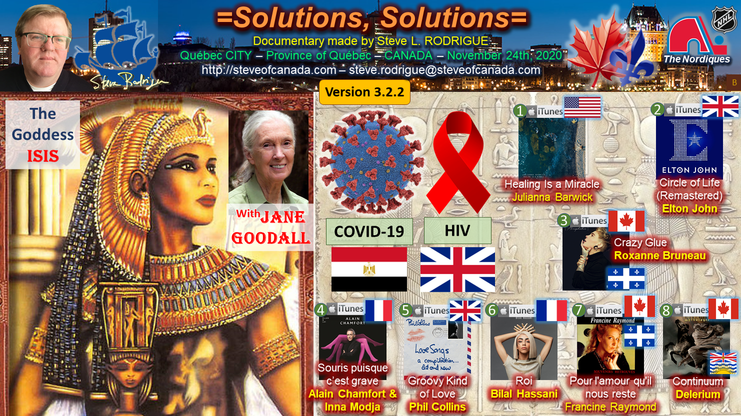 Origins and Solutions to COVID-19 and to HIV